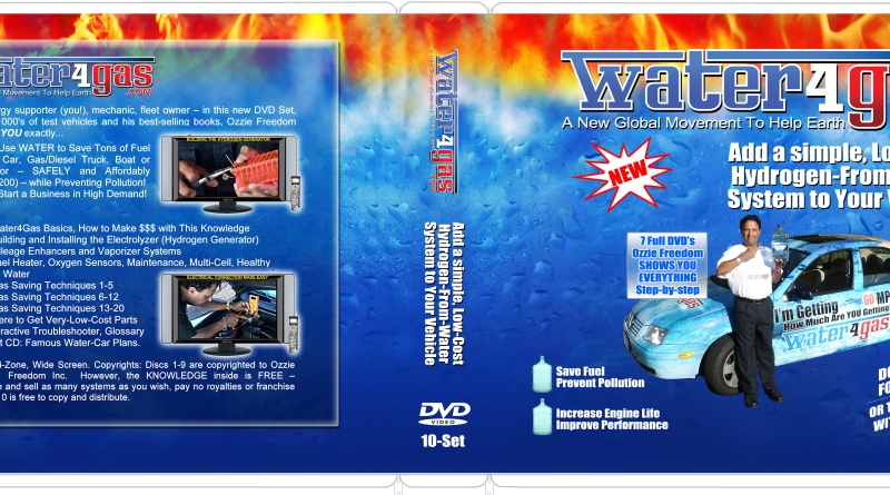 10-Disc Water4Gas DVD Set